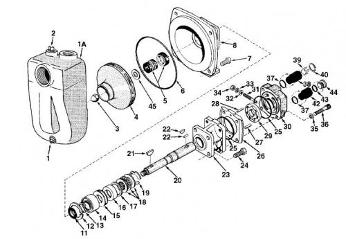 Hypro samonasávacie centrifugálne čerpadlo