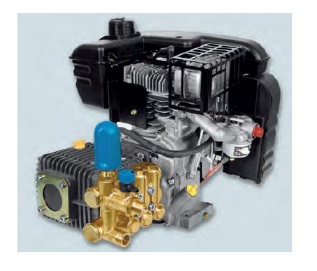 Bertolini Čistiace piestové čerpadlo pohon benzínovým motorom