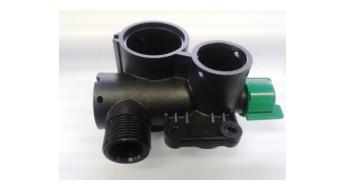 Hardi Telo sekciového ventilu s nastaviteľným prepadom  728010